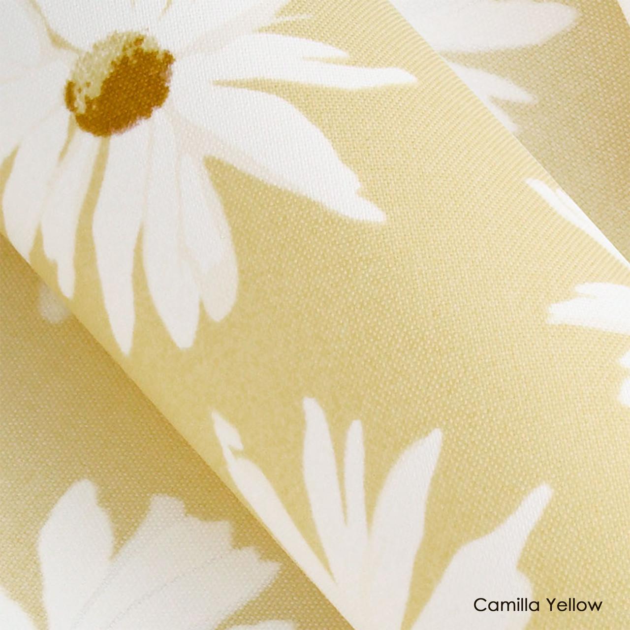 Тканевые роллеты Camilla Yellow