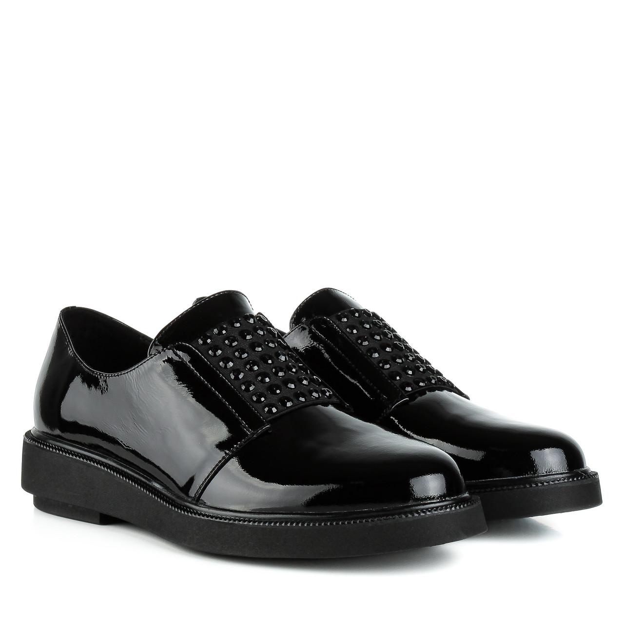 Туфли женские LADY MARCIA (черные, натуральные, стильные, удобные)