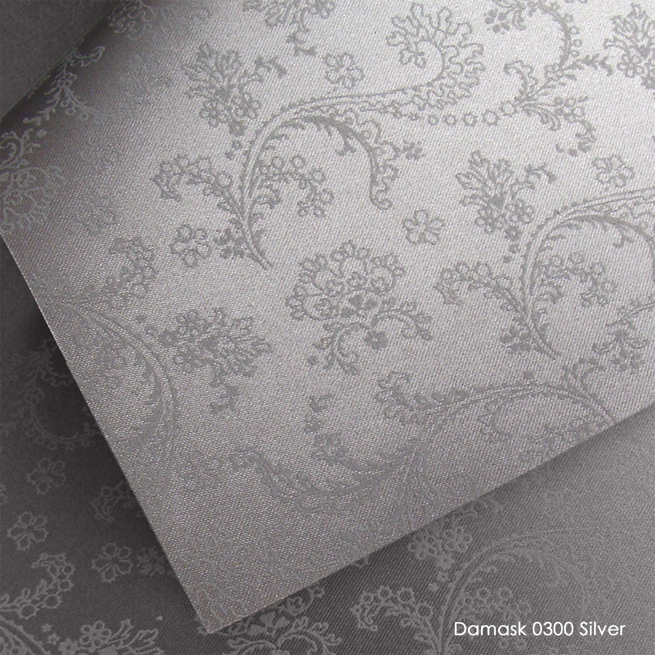 Тканевые роллеты Damask Silver