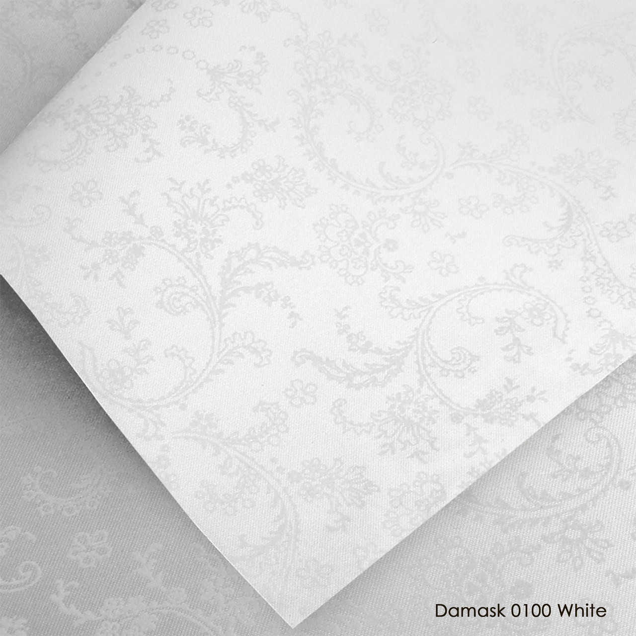 Тканевые роллеты Damask White