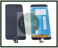 Дисплей для Huawei Nova Lite 2017, SLA-L22 с сенсорным экраном, черный