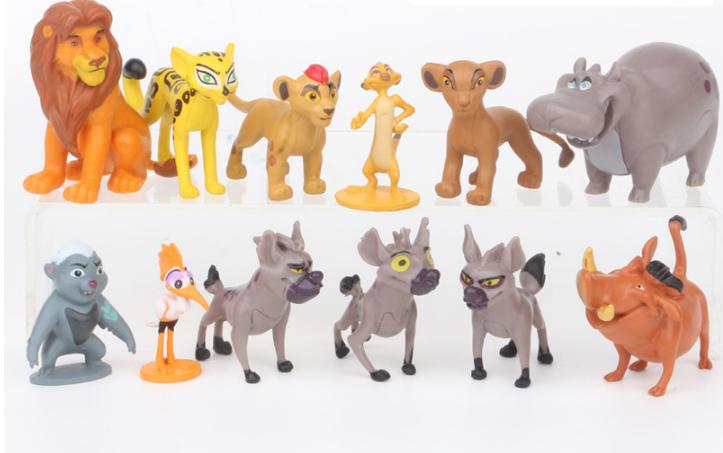 Игровой набор фигурок Король Лев (12 штук)