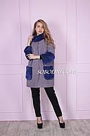Распродажа пальто с мехом норки, фото 1