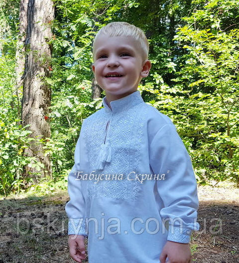 Дитячі вишиванки для хлопчиків (МВ-24хл)