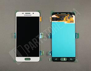 Дисплей Samsung а310 White а3 2016 (GH97-18249A) сервисный оригинал, фото 2