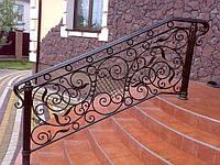 Кованеые перила, лестницы