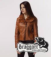 Braggart Youth | Женская куртка весна-осень 25522 коричневая