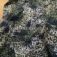 Ткань плащевка канада принт камуфляж green