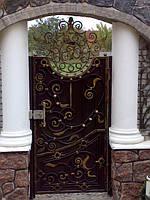 Кованные двери, калитка