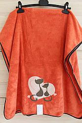 """Рушник мікрофібра для обличчя """"Котики"""" (код707-5)"""