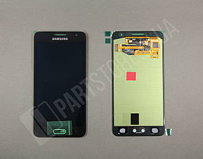 Дисплей Samsung А300 Black А3 2015 (GH97-16747B) сервисный оригинал, фото 2