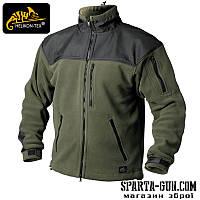 Куртка флісова Helikon-Tex CLASSIC ARMY - Олива-Чорна