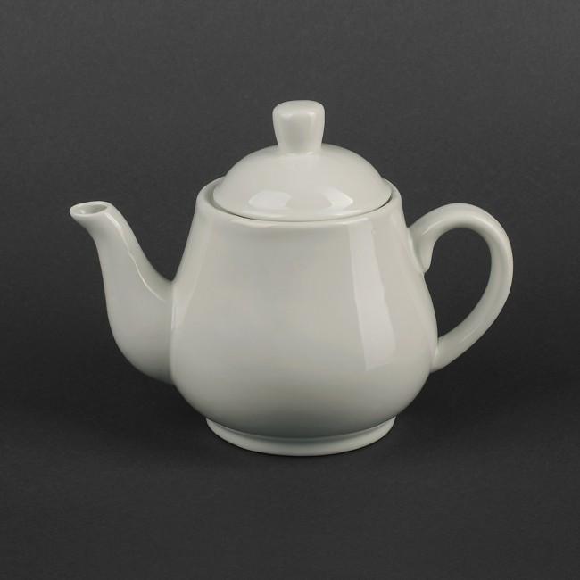 Заварочный фарфоровый белый чайник 700мл (арт. HR1503)