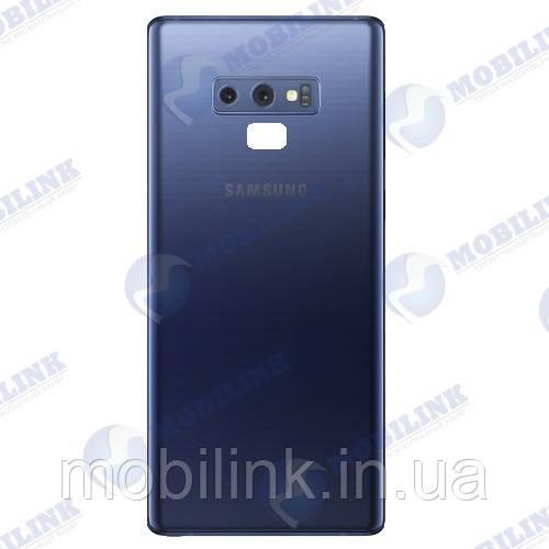 Крышка задняя Samsung Note 9 N960 Голубая Blue GH82-17071B оригинал!