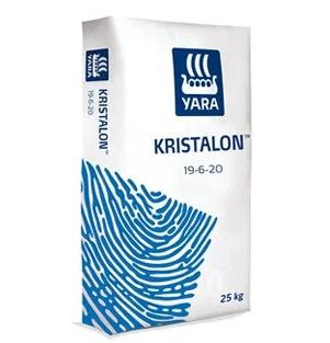 Удобрение YaraLiva KRISTALON(19-6-20), 25 кг