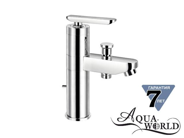 Смеситель для умывальника с душем Aqua-World СМ35Ц.17.1