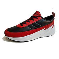 Красно-черные женские кроссовки Серия Lightning.