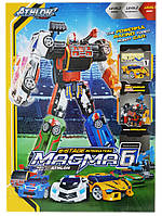 Трансформер Тобот  6в1 Магма 6 TOBOT Magma 6