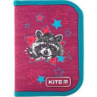 Пенал Kite Fluffy racoon K19-621-1, фото 1
