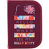 Пенал с наполнением Kite Hello Kitty HK19-622H, 1 отделение, 2 отворота