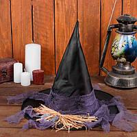 Шляпа Ведьмы с мышами и пауками, колпак - аксессуар для вашего образа, фото 1