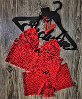Красный кружевной комплект нижнего белья бюстгальтер и трусы .