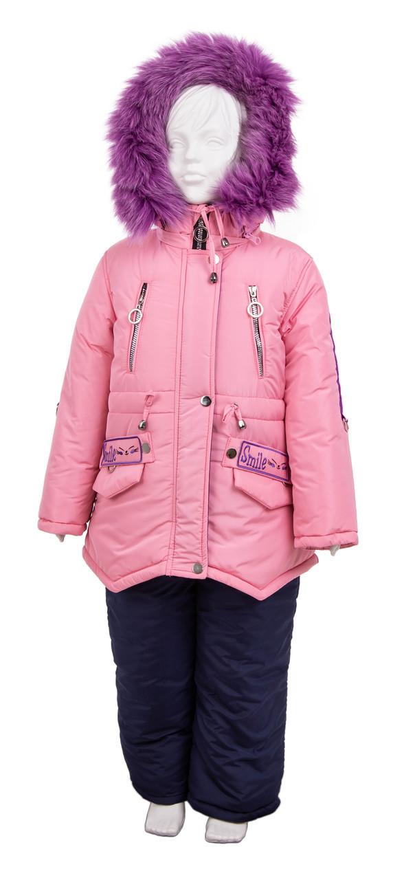 Детский комбинезон на девочку от производителя  22-28 розовый
