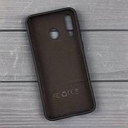 Силиконовый чехол на Samsung M30 Black