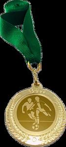 Медаль футбольная 35мм. 2402-Ф