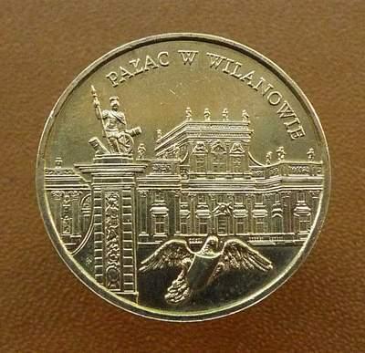 Польша 2 злотых 2000 Дворец в Вилянуве