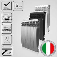Биметаллические радиаторы Royal Thermo (Италия) BiLiner Noir / Silver 500