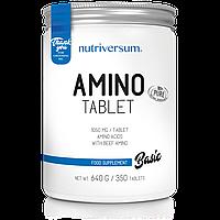 Аминокислоты Nutriversum Amino 350 tabs