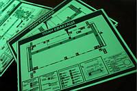 Светящиеся в темноте планы эвакуации, таблички и указатели из металла изготовим за 1 день