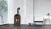 Каминофен на дровах BASEL II, Отопительная печка, современная буржуйка