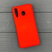 Силиконовый чехол на Samsung M30 Red