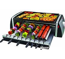 Шашлычница-мультигриль 3 в 1 (шашлык, гриль-барбекю, хот-дог); 10 шампуров, VILGRAND V1507GВ__HOT_DOG