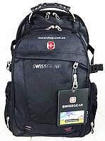 Швейцарский рюкзак SwissGear c Usb выход. Мужской рюкзак. Школьный портфель. Мужская сумка.  ШР5