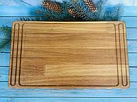 Деревянная доска 50х30 см, фото 1
