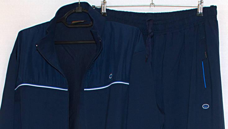 Mужской спортивный костюм синий большого размера Piyera 7417 (3X-4XL), фото 2