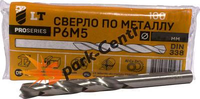 Сверла по металлу P6M5 спиральные с цилиндрическим хвостовиком, средней серии DIN 338 G (ГОСТ 10902)