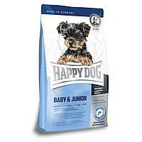 Happy Dog Supreme Young Mini Baby & Junior корм для цуценят дрібних порід, 4 кг