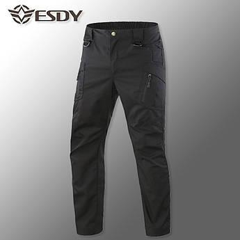 """🔥 Тактические штаны-брюки """"ESDY. IX9"""" (черный) tactical pants. штаны карго"""