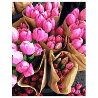 Картина по номерам Голландские тюльпаны 40 x 50 см GX7520