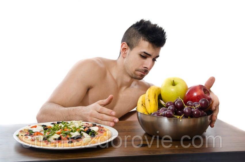 Правильное питание для мужчин: немного химии