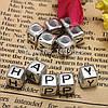 Бусины для плетения браслетов Буквы (цветные), фото 4