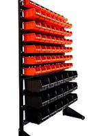 Стеллаж для метизов с ящиками ART15-81/ящики для склада,складские ящики,ящики для болтов