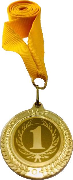 Медаль 2402 золото