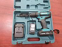 Аккумуляторный Шуруповерт Макита DHP482 - 18V ( 2 аккумулятора + кейс  в комплекте )