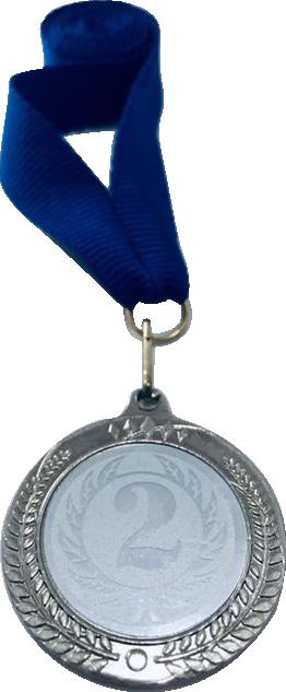 Медаль 2402 серебро