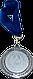 Медаль наградная 35мм. 2402-1 2 3, фото 2